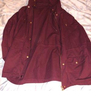 Charlotte ruse Burgundy jacket